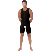 Marena MB Male Recovery Compression Bodysuit Black